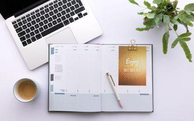 Werk met een planner voor meer structuur en overzicht