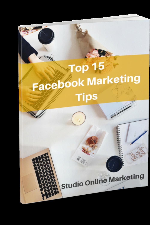 E-book Top 15 Facebook Marketing tips